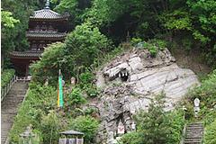 神霊石の大岩