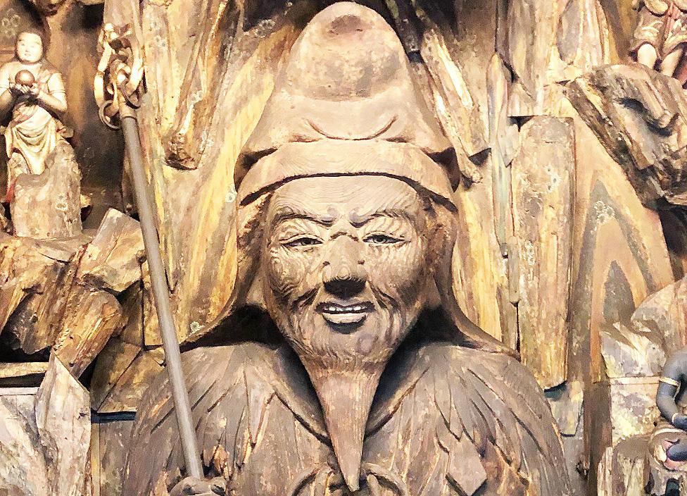 松尾寺日本最大級の役行者像